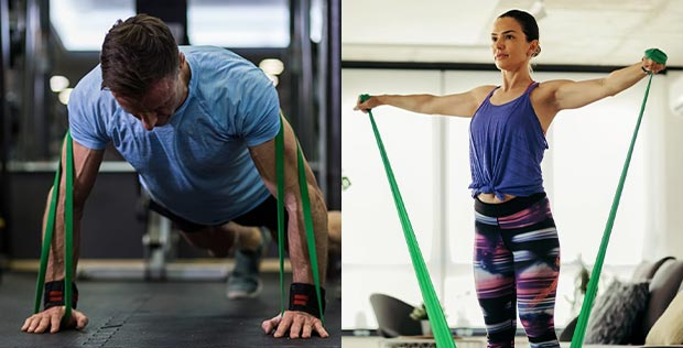 5 workouts with resistance band